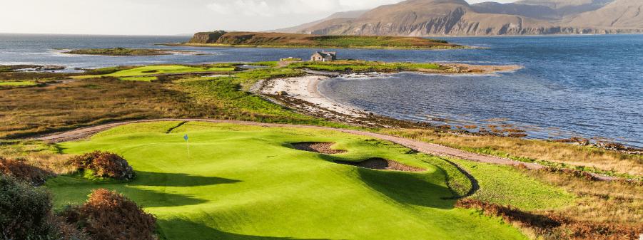 Ardfin golf pano